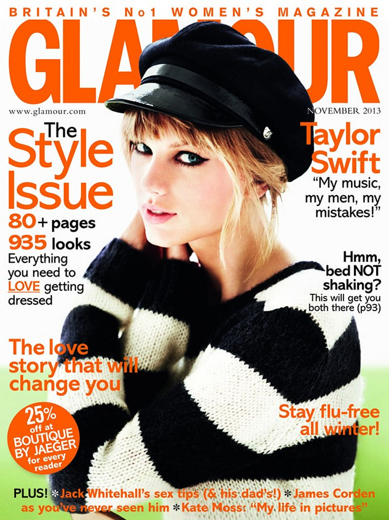 Taylor Swift rocks a perfect cat eye on 'Glamour UK' — How to