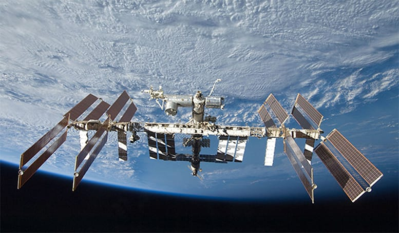 Russian official claims sea plankton was found clinging to ISS windows