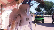 Maker Faire pony has Wiimote-controlled indigestion, belches fire (video)