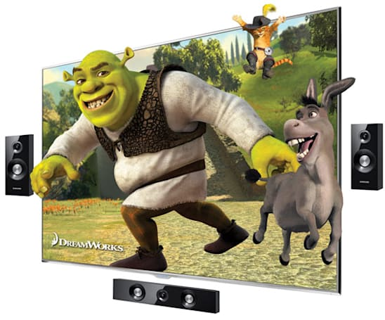 Samsung touts Bluetooth 3D support on LED 8000 / 7000 HDTV line, intros D8000 and D6500 plasmas