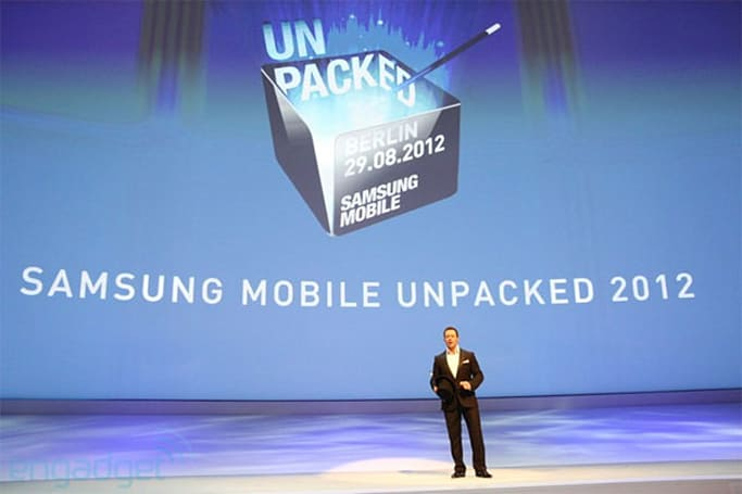 Samsung Unpacked at IFA 2012: watch it online now