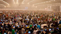 Visualized: Sweden's Dreamhack in pictures