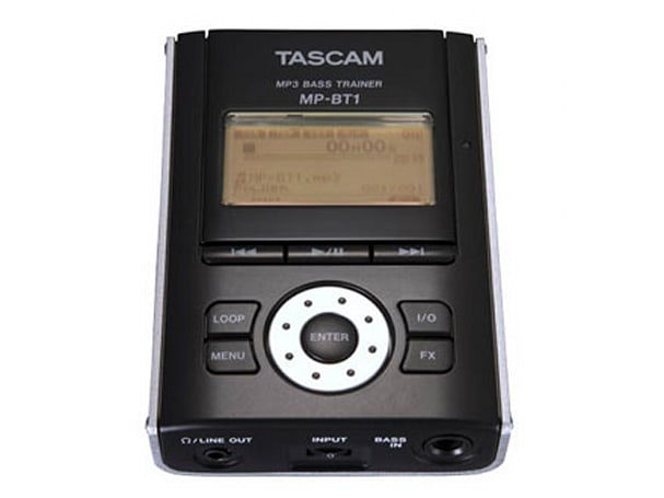 Tascam intros bass / vocal DAP trainers