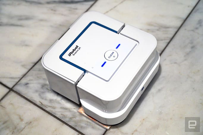 Next for iRobot: A cute $199 kitchen and bathroom mop bot