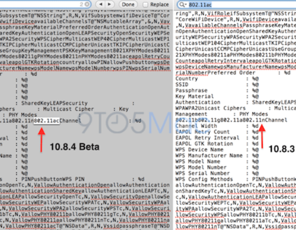 Code in OS X 10.8.4 beta suggests upcoming Macs will feature Gigabit 802.11ac WiFi