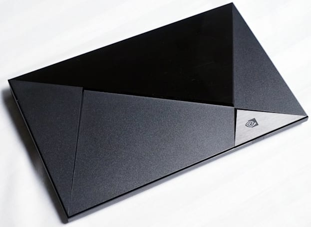 Using NVIDIA's streaming, Android TV set-top box: the Shield