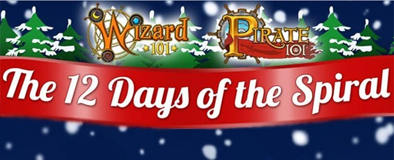 Wizard101, Pirate101 celebrate season with 12 days of specials