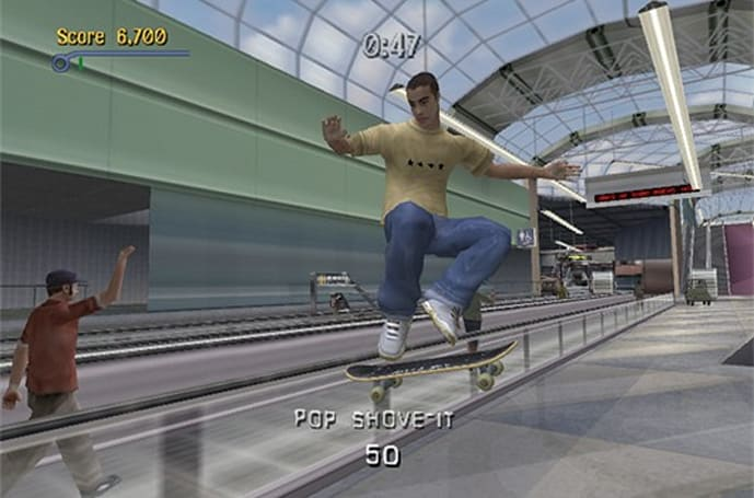 Tony Hawk's Pro Skater HD 'Airport' and 'Los Angeles' DLC footage leaks