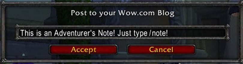 Workaround for WoW.com addon's /note issues.