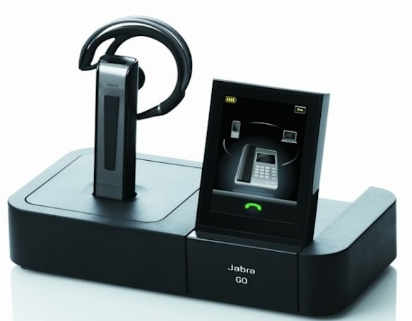 Jabra Go 6400 and Pro 9400 with capacitive touchscreen base redefines overkill, want