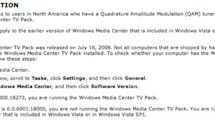 Windows Media Center TV Pack was released yesterday