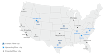 Google taps Los Angeles and Chicago to explore Fiber