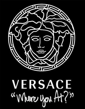 Versace working on a phone for some reason