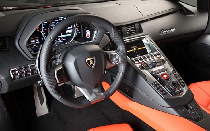 2012 Lamborghini Aventador LP700-4 gets Tegra-powered multi-function displays (video)