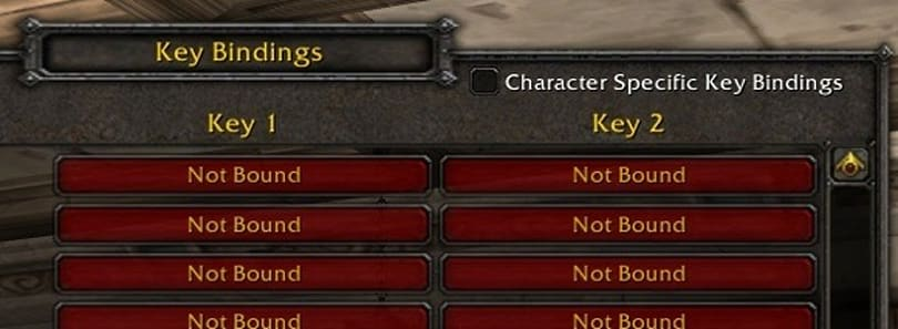Keybindings and how to change them