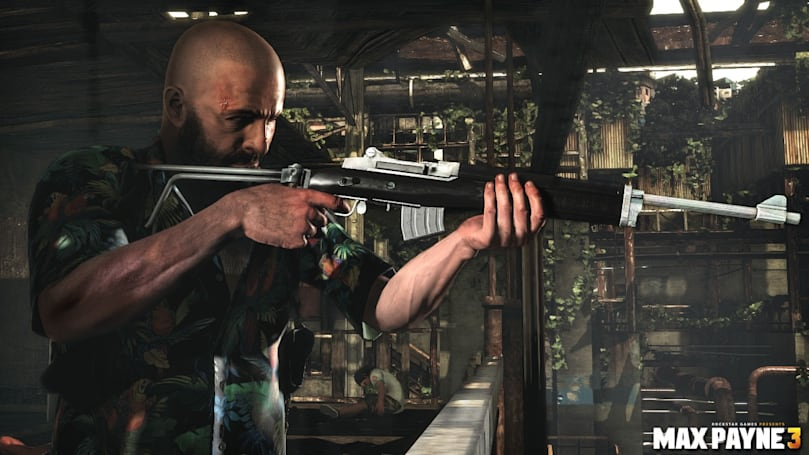 Max Payne 3 trailer turns up the volume