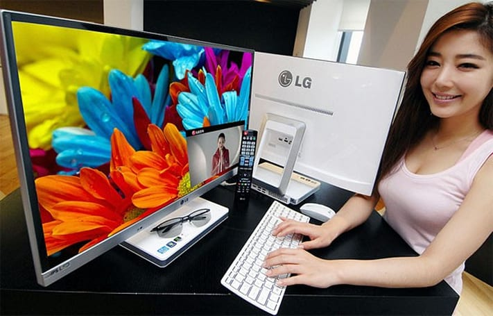 LG's 27-inch V720 all-in-one PCs pop up on Flickr, IPS and optional Ivy Bridge in tow