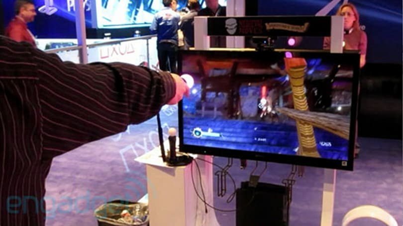 Deadmund does it right: PlayStation Move and 1:1 swordplay, hands-on (video)