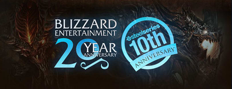 SteelSeries and Blizzard team up for a dual anniversary celebration