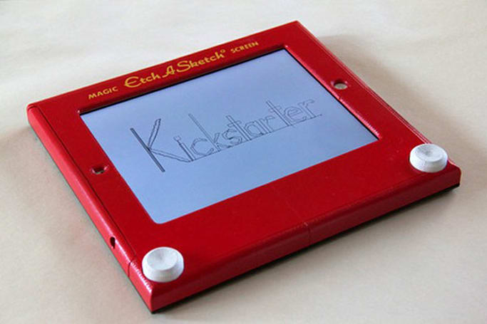 Insert Coin: Etcher, the fully functional Etch A Sketch iPad case