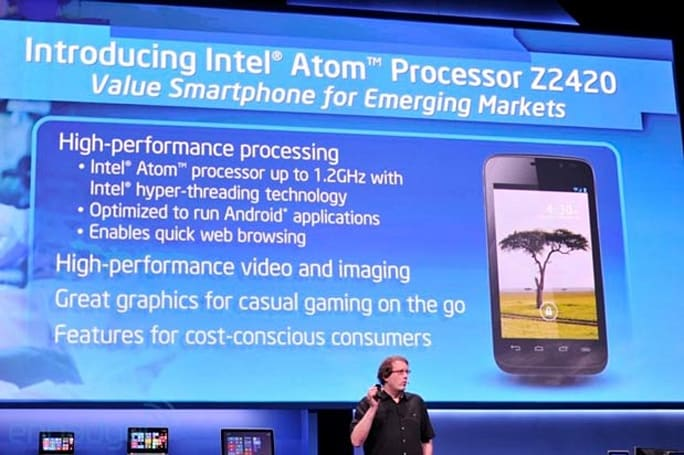 Intel announces new Lexington platform: up to 1.2 GHz, supports 1080p video and HSPA+ data speeds