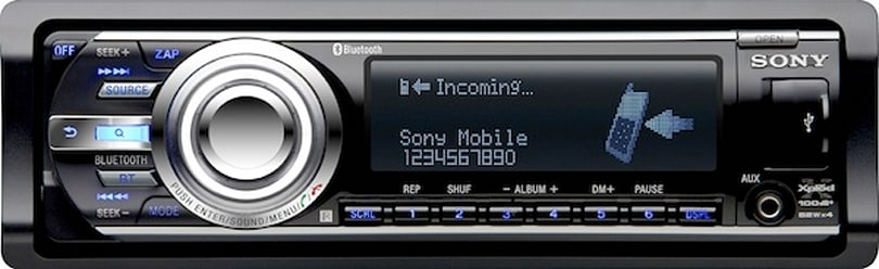 A car stereo built for the King (of phones)