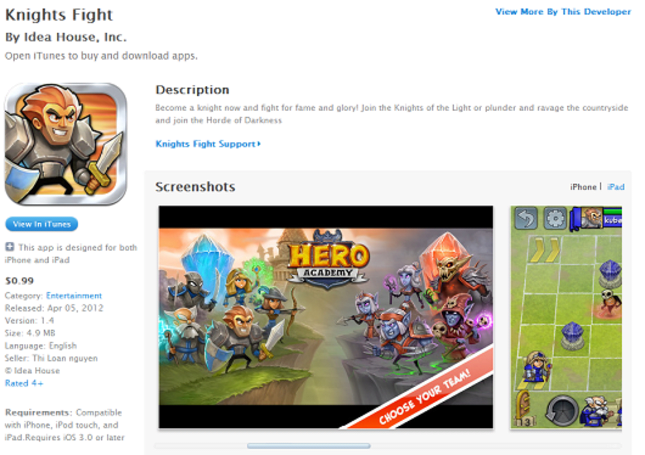 Blatant Hero Academy rip-off on App Store is the laziest yet