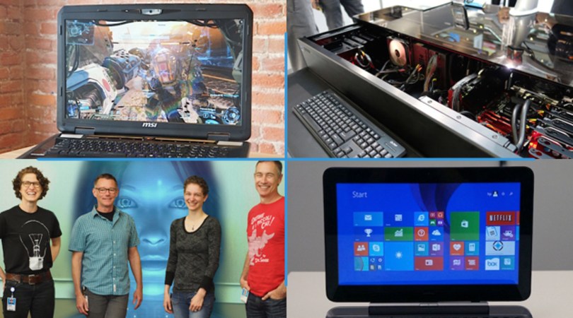 Engadget Daily: inside the mind of Cortana, a desk/PC hybrid and more!