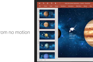 PowerPoint Designer and Morph Launch Video