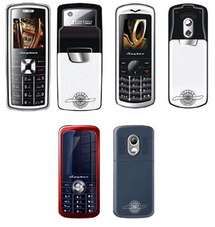 Spyker rolls out three handsets and joins cellphone biz