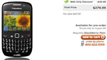 Cricket launches BlackBerry Curve 8530, says Kyocera Zio is in the cards