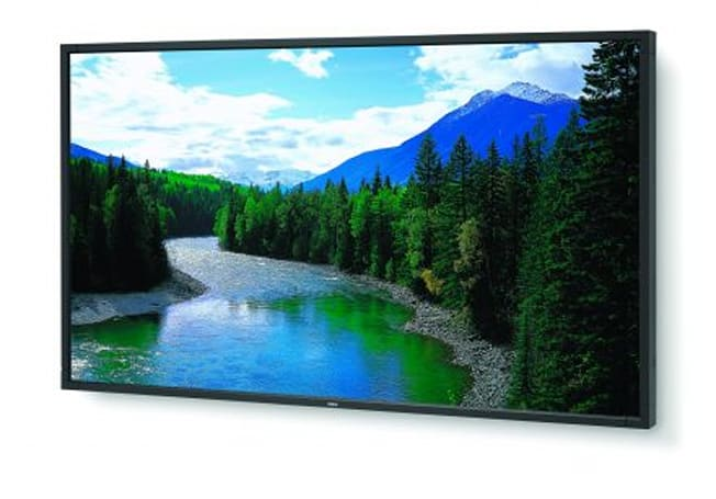 NEC shows off 52-inch MultiSync LCD5220 for digital signage