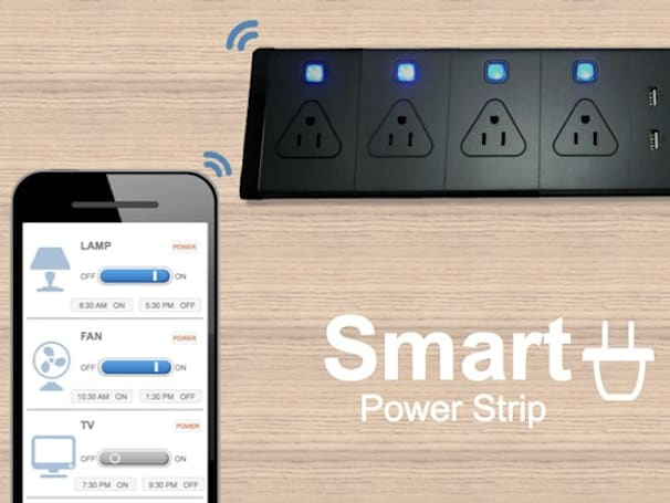 Insert Coin semifinalist: Smart Power Strip helps you do home automation yourself