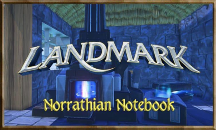 Norrathian Notebook: Upgrading your tools in Landmark