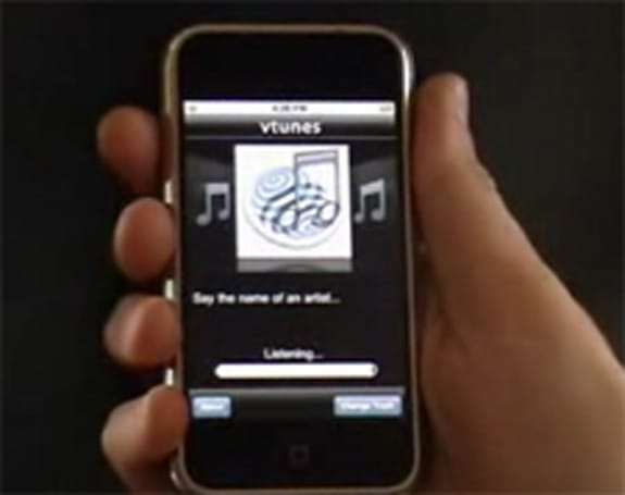 VoiceSignal ports voice recognition software to iPhone