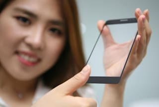 LG's phone fingerprint sensor doesn't need a button