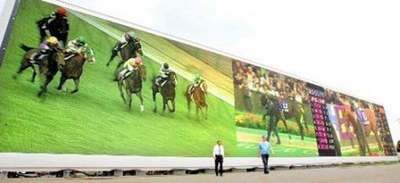 "Newest ""World's Largest HDTV"" constructed at Japan racetrack"
