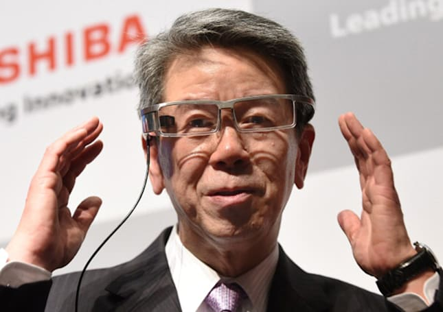 Toshiba CEO quits after company lied about $1.2 billion profits