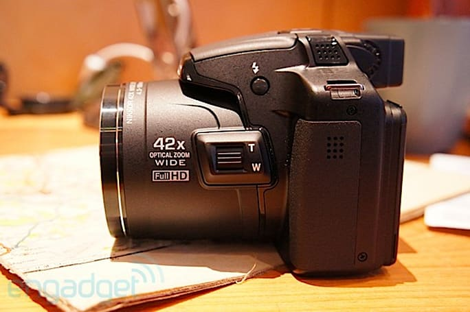 Nikon Coolpix P510 arrives in London, we go hands-on (video)