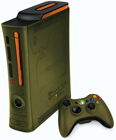 Xbox 360 Halo 3 Special Edition high res pics