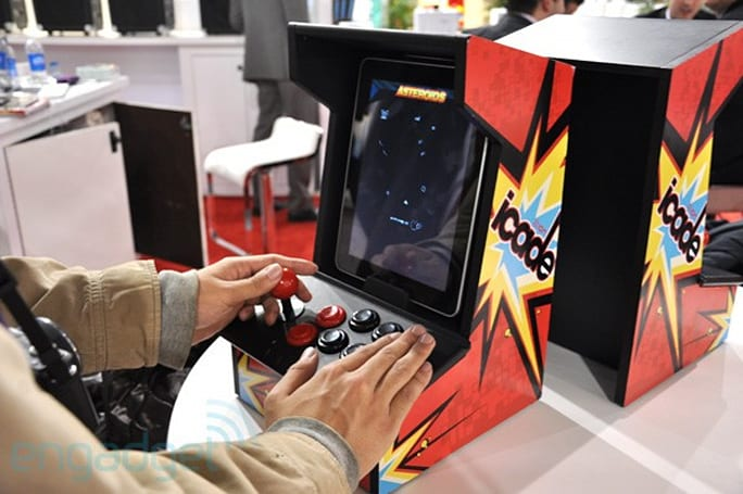 Ion iCade hands-on: gaming on the iPad like it's 1979 (video)