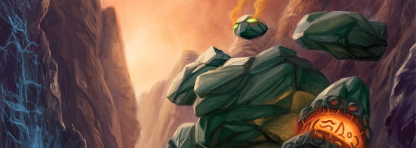 Hearthstone's Earth Elemental card deals a world of pun-ishment