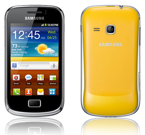Samsung Galaxy Mini 2 available now in the UK for tiny hands and the people that have them