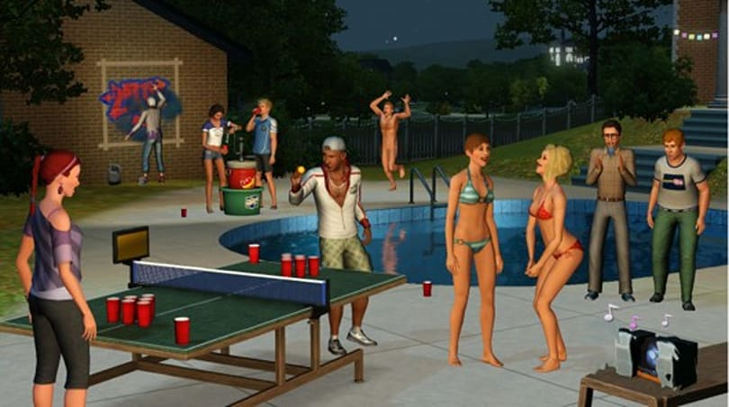 The Sims experience 'University Life' March 5
