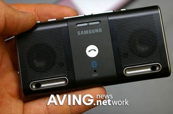 Samsung's BS300 Bluetooth speaker for the small minded