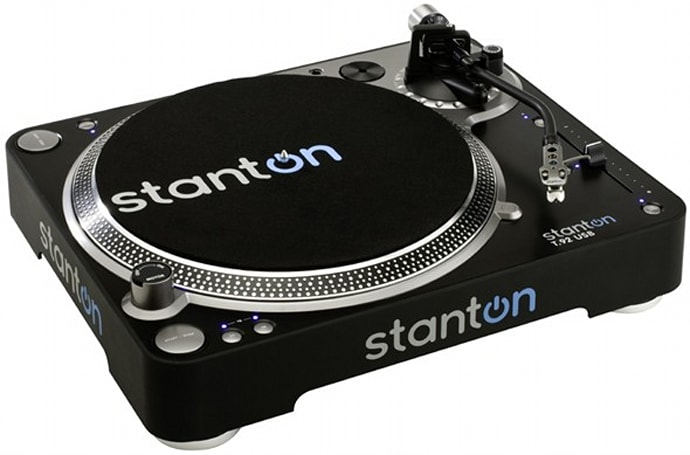 Stanton's T.55 and T.92 USB turntables take vinyl to MP3 sans fuss