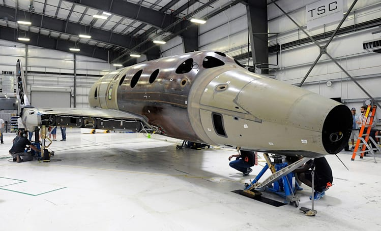 Virgin Galactic debuts the next SpaceShipTwo on February 19th