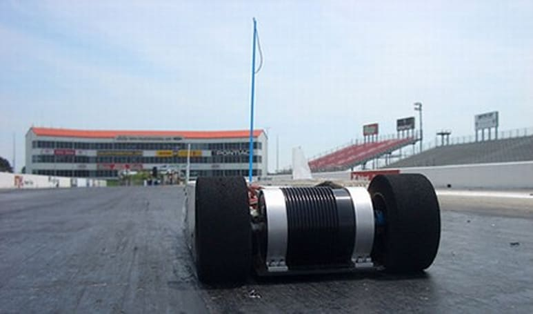 Remote controlled car shoots for 200mph