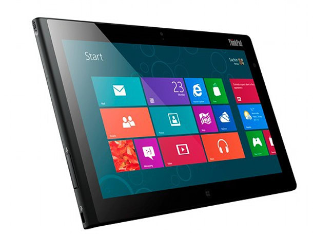 Lenovo ThinkPad Tablet 2 priced at $649 and up, still on track to ship this month