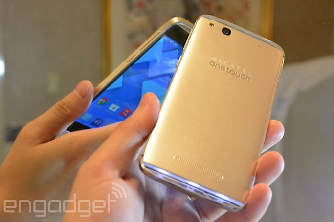Alcatel OneTouch Idol Alpha gets a champagne gold option, headed to Europe this quarter